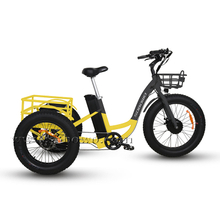 Sobowo Model N4-F Cheap Front Drive Motor Fat Tire Electric Tricycle for Adults
