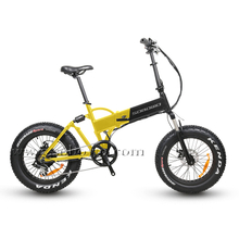 20 Inch Hidden Battery Fat Tire Foldable Electric Bike for Adults