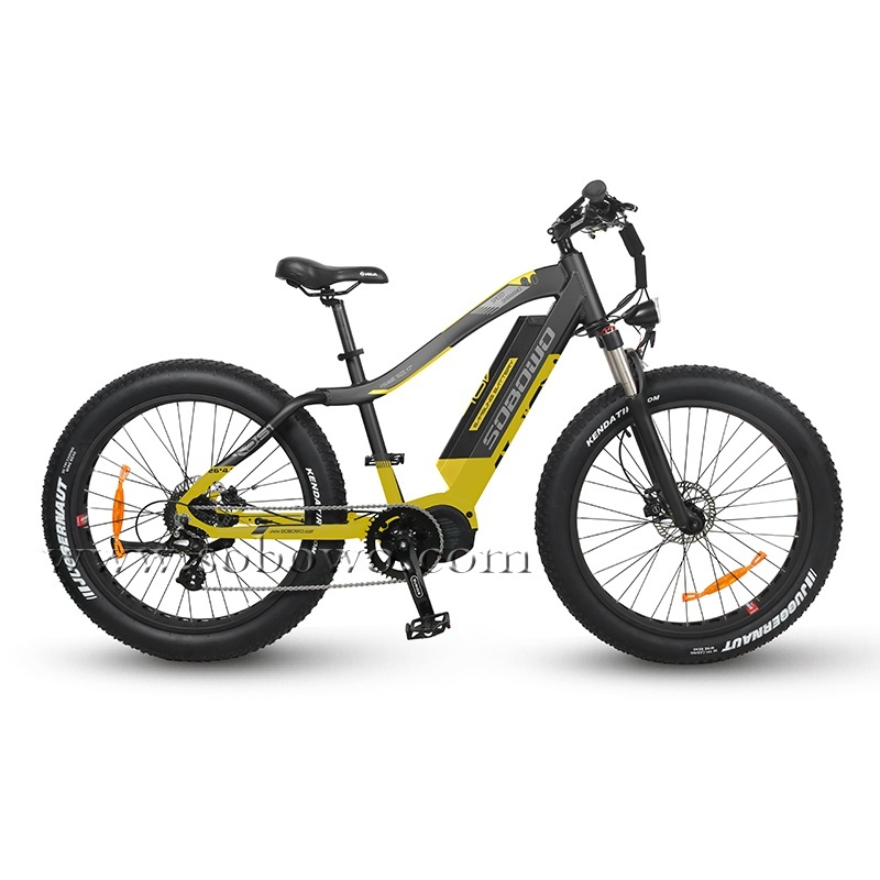 Powerful Bafang G510 Mid Motor Off-road Electric Fat Bike