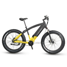 Sobowo Q7-5 48v 750w/1000w Belt Drive Mid Motor Fat Tire Electric Bike