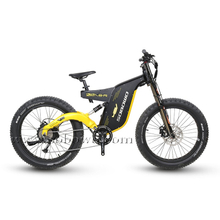 Sobowo Model A8-R Full Suspension High Power with Large Battery Fat Tire Electric Bike for Off Road
