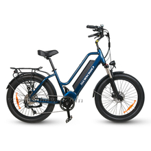 24'' Step Through Beach Cruiser Electric Bike for Sale